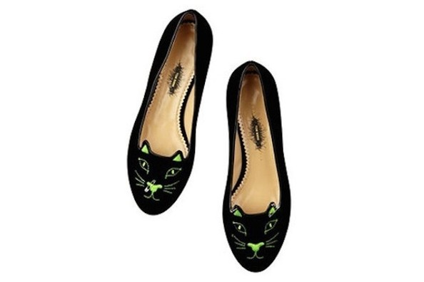 Charlotte Olympia's Kitty Flats Just Got a Punk Makeover