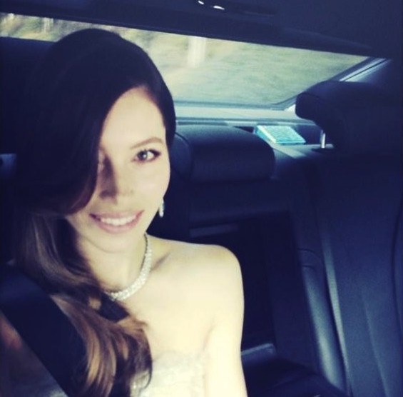 Jessica Biel arrives in style. - The Best Oscar Instagram ... Jessica Biel Instagram