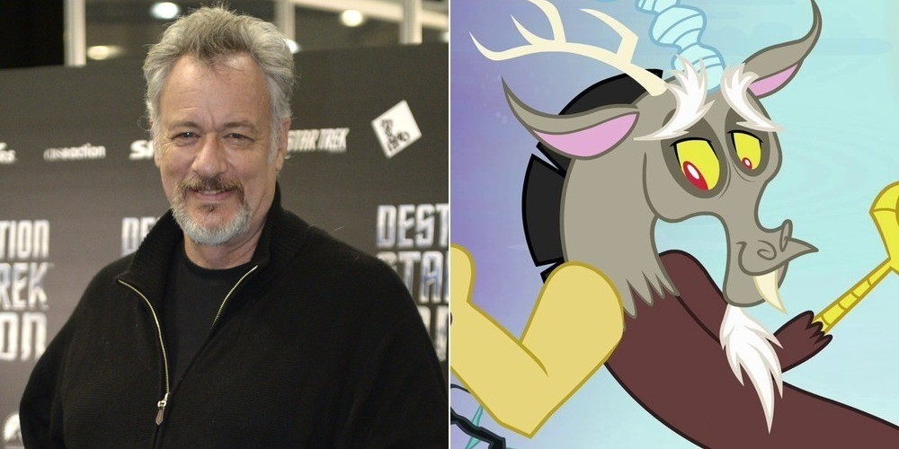 26 Questions with the Writer and Director of 'My Little ... John De Lancie Discord Plush