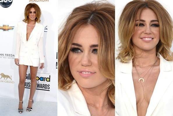 Hot or Not: Miley Cyrus' Bouffant and Blazer