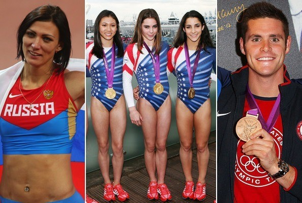 Hottest Olympic Medalists 2012