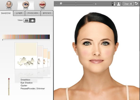 Virtual hairstyler free virtual makeup makeover lite for Virtual home makeover