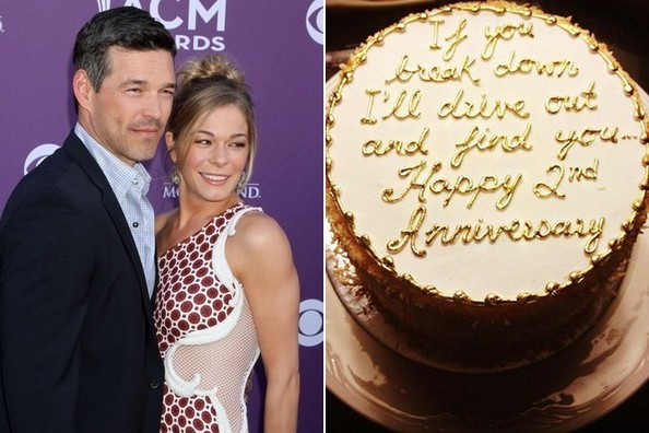 LeAnn Rimes And Husband Eddie Cibrian Celebrated Their Second Wedding Anniversary Monday With A Low Key Lovely Night Out In Toronto