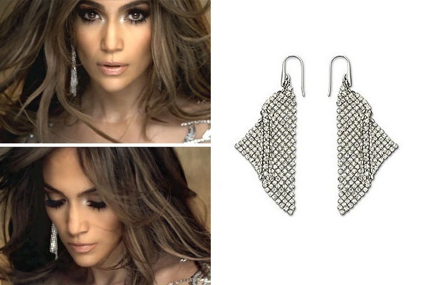 Jennifer Lopez's 'On the Floor' Earrings