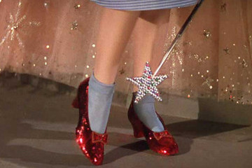 Have You Seen These Iconic Ruby Slippers from 'The Wizard of Oz'?