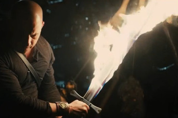 Vin Diesel Wields a Flaming Sword in 'The Last Witch Hunter' Trailer