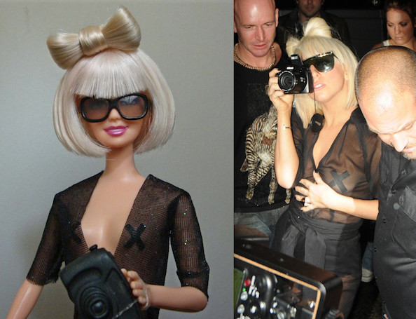 Lady Gaga Doll 'Player' Advocates DIY Barbie Clothes for Kids