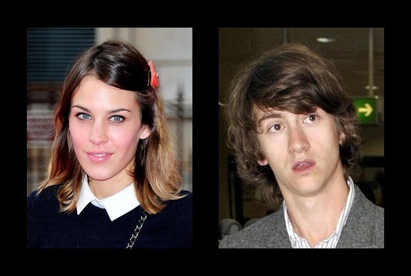 Alexa Chung is dating Alex Turner