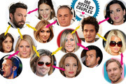 The Intertwined Dating Histories of our 100 Hottest Couples