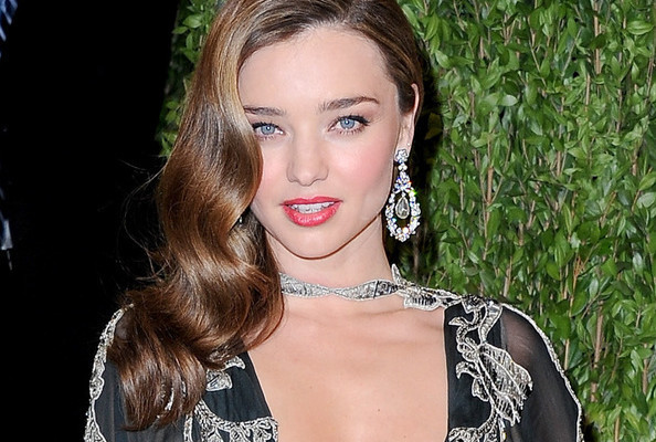 The EXACT Products Miranda Kerr Used to Get This Party-Perfect Look