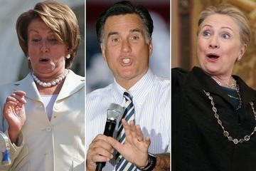 Politicians Making Funny Faces