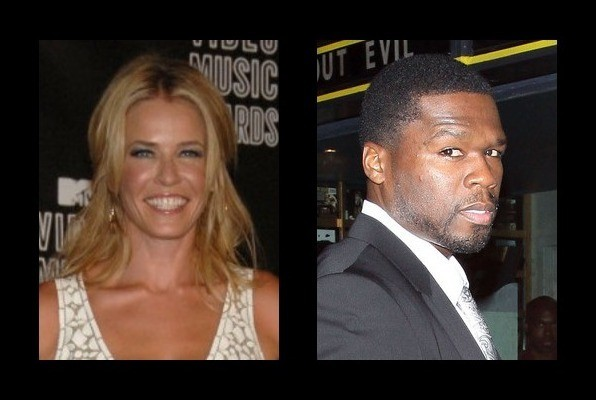Chelsea Handler is rumored to be with 50 Cent