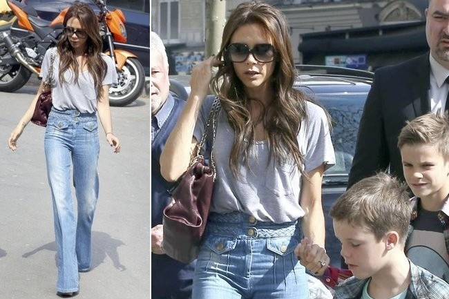 Do You Like Victoria Beckham's '70s Jeans?