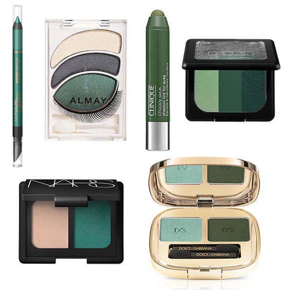 How to Pull Off Green Eyeshadow for St. Patrick's Day