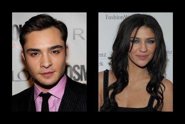 ed westwick and girlfriend
