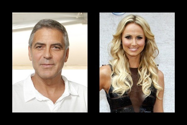George Clooney dated Stacy Keibler