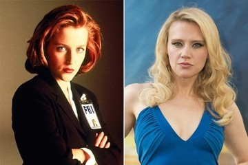 Gillian Anderson Shared the Best Photo of Kate McKinnon as Dana Scully