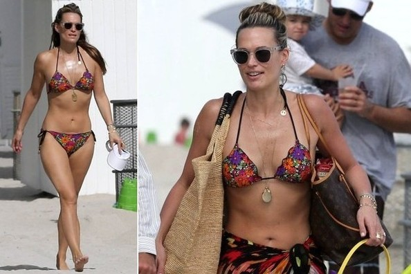 Vacation Style Inspiration: Molly Sims