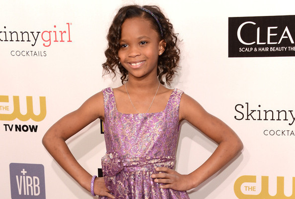 The Cutest Thing You'll See Today: André Leon Talley Interviews Quvenzhané Wallis