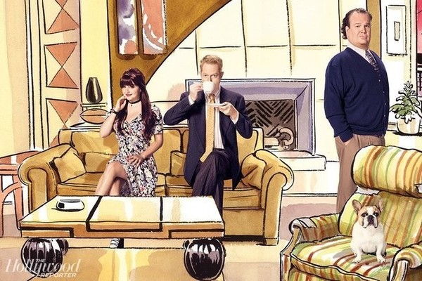 'Modern Family' Cast Recreates Classic TV Shows for 'The Hollywood Reporter'