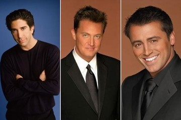 TV Boyfriend Smackdown: Ross vs. Chandler vs. Joey from 'Friends'