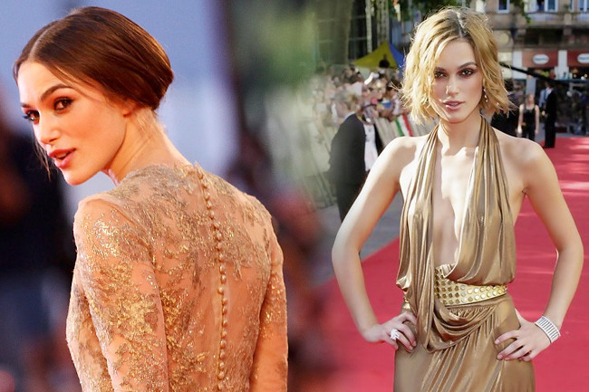 Fashion Flashback - Keira Knightley Then & Now