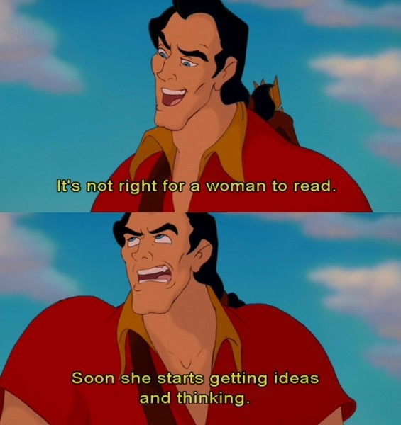Disney Characters Who Desperately Need Therapy Gaston Beauty And The Beast
