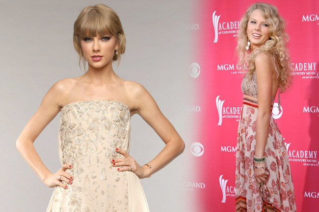 Fashion Flashback - Taylor Swift Then & Now