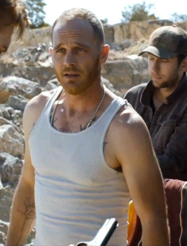 Ethan Embry plays an illegal gun dealer in 'The Guest.'