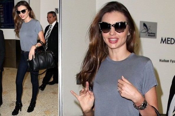 Simple Outfit Idea to Try: Miranda Kerr's Basics