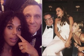 The Best Behind-the-Scenes Moments from the 2016 Emmys