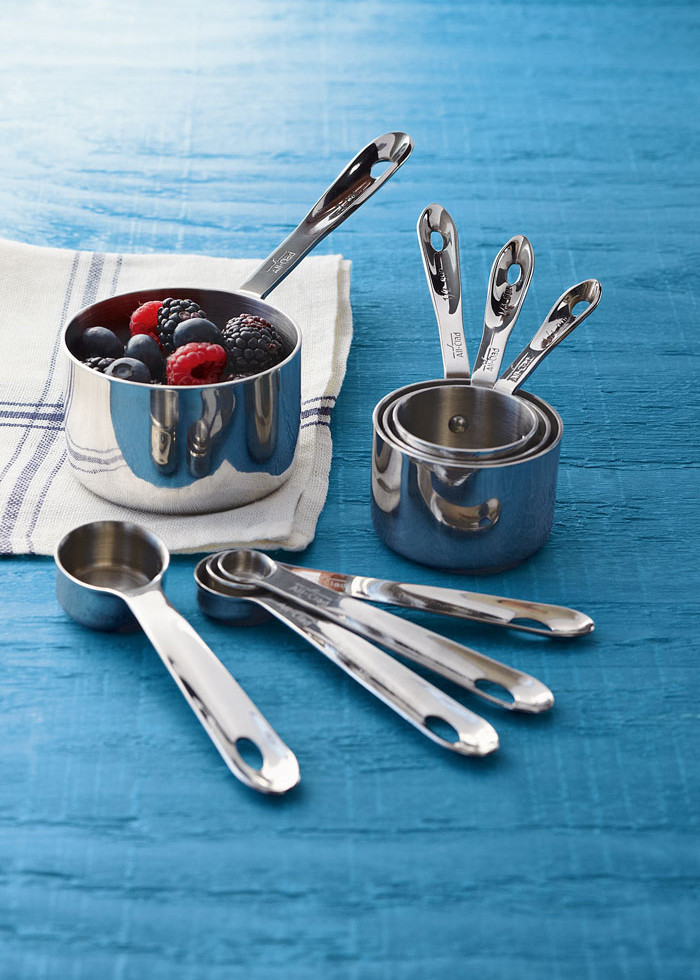 All clad stainless steel measuring set | Lonny.com