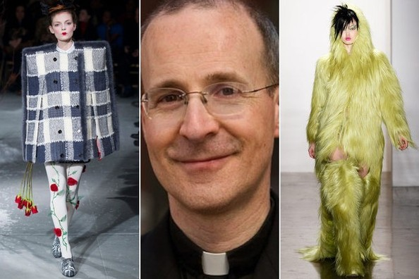We Ask a Jesuit Priest to Review Fashion Week Looks - 'Casual Fridays in Hell'