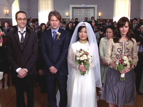 A 'Gilmore Girls' Wedding Gown Retrospective—Which Dress Should Alexis Bledel Wear?