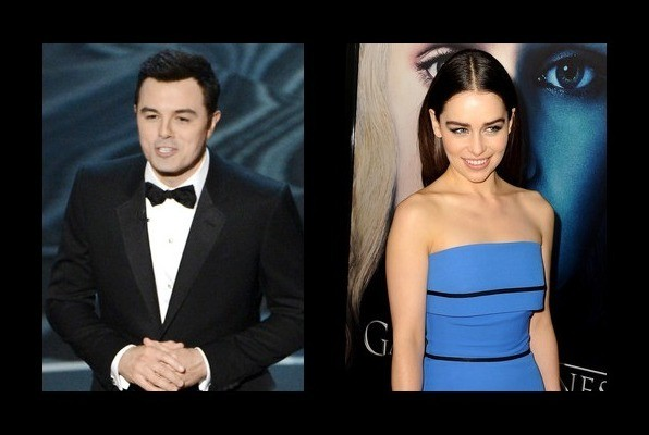 Seth Macfarlane Dated Emilia Clarke Seth Macfarlane Girlfriend