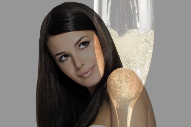 Add Shine To Your Tresses With This DIY Champagne Hair Treatment