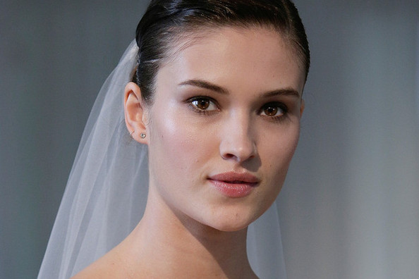 Wedding Makeup Ideas: Marchesa's Spring 2014 Bridal Show
