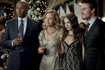 'Arrow' New Photos - Christmas Adversaries