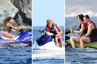 Celebs on Jet Skis