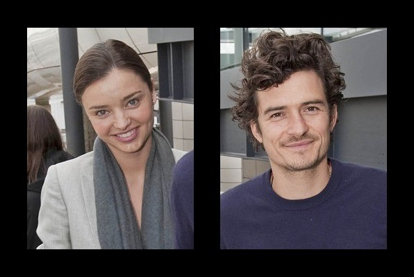 Miranda Kerr is married to Orlando Bloom
