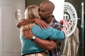 Shemar Moore Returns to 'Criminal Minds' for His Baby Girl