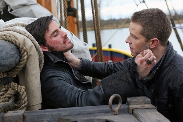 'Once Upon a Time' New Photos - Hook & Charming Battle