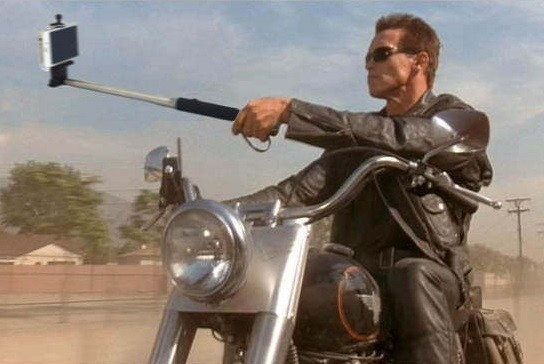 And Now: Famous Movie Guns Replaced With Selfie Sticks