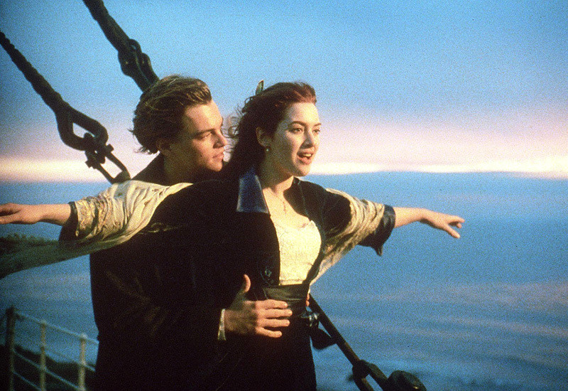 kate winslet gloriously recreated that famous romantic