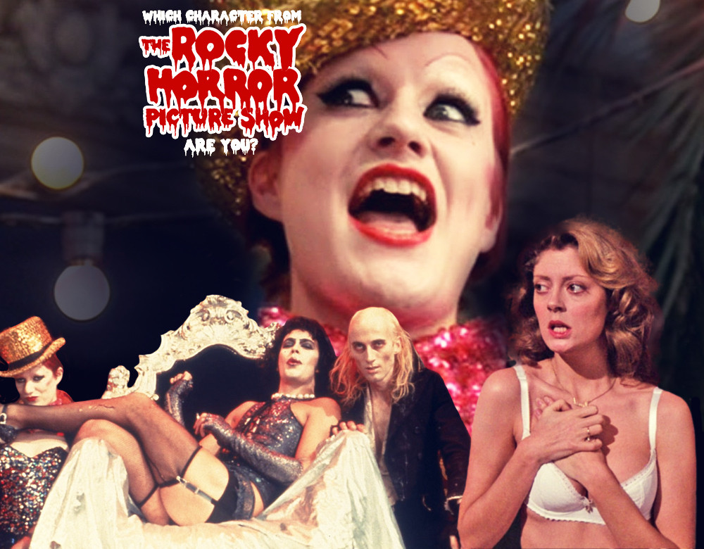 Which rocky horror picture show character are you quiz zimbio begin quiz voltagebd Choice Image