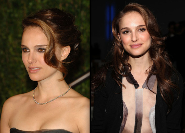 Natalie has medium-length hair, so most of these styles would work best with
