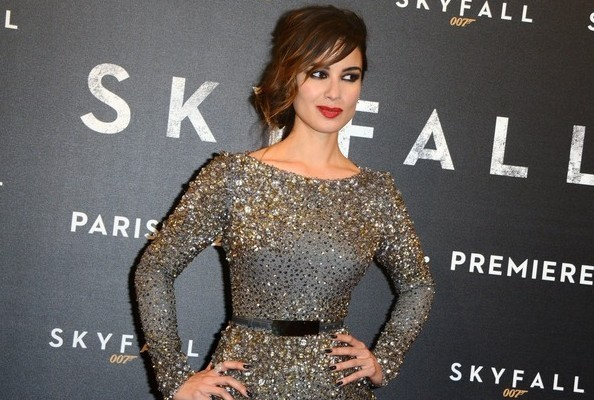 Look of the Day: Berenice Marlohe, Silver Siren