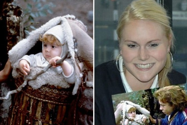 Laura Hopkirk From Willow Famous Movie Babies Then And Now Zimbio