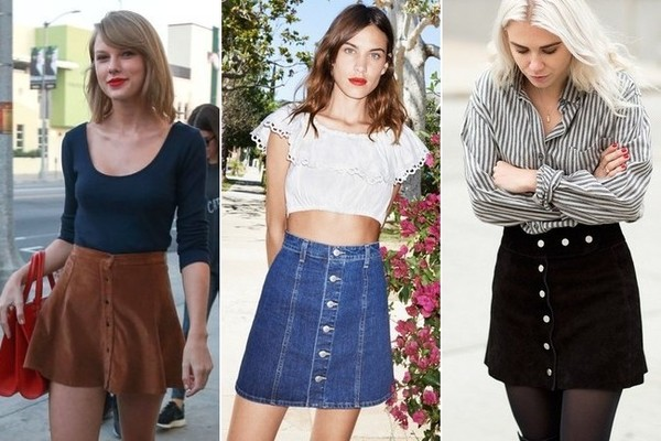 The Vintage Inspired Skirt Shape Celebs Are Loving