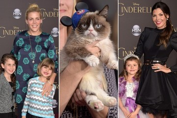 Look at All the Cute Celebrity Kids (and Grumpy Cat) at the 'Cinderella' Premiere